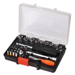 Black and Decker - Wrench and Socket Set  35 Pce - A7225