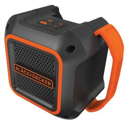 Black and Decker - 18V Bluetooth Speaker - BDCSP18N