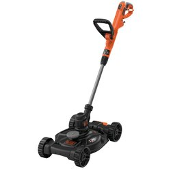 Black and Decker - 550W 30CM POWERCOMMAND 3in1 Strimmer With Mower Base - BESTE630CM