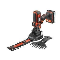 Black and Decker - 18V Lithium Ion Multievo HedgeTrimmer and Shear - MT18SSK