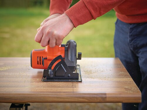 Black and Decker - 18V Lithiumion 140mm Cordless Circular Saw - BDCCS18