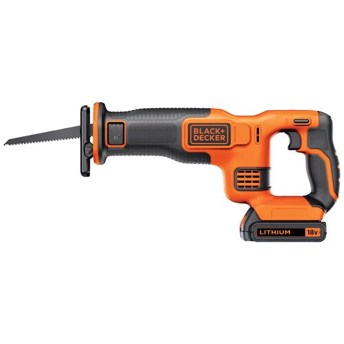 Black and Decker - 18V Lithiumion Cordless Reciprocating Saw - BDCR18