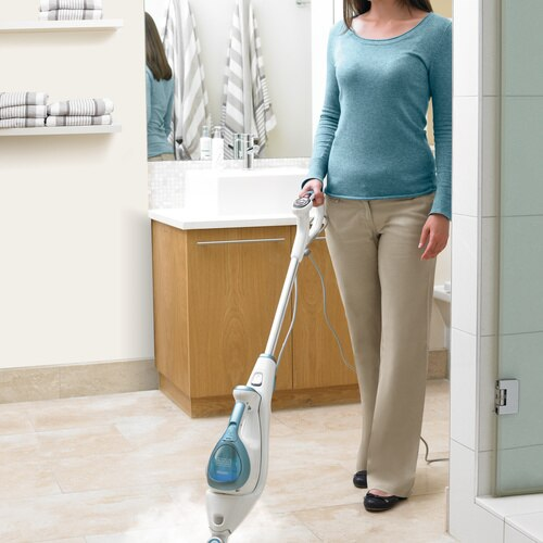 Black and Decker - steammop Deluxe with Steambuster  steamperfume - FSMH1621S