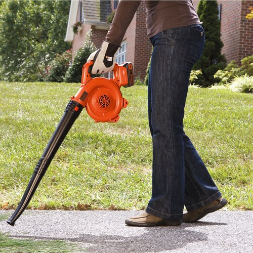 Black and Decker - 18V 20Ah Lithiumion Cordless Leaf Blower - GWC1800L20