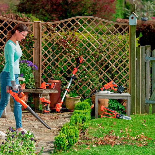 Black and Decker - 18V POWERCOMMAND Boost Blower - GWC1820PC