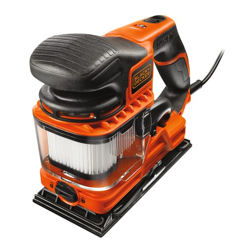 Black And Decker - 270W DUOSAND 13 Sheet Sander with Kitbox and Accessories - KA330EKA