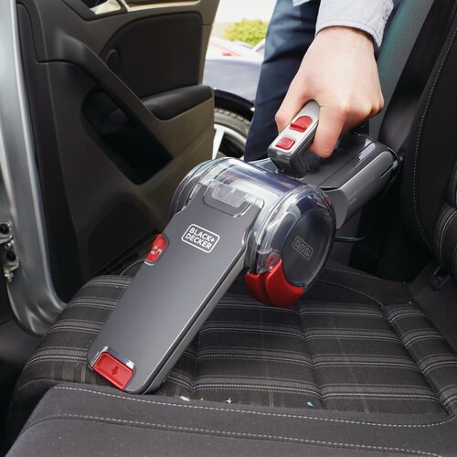 Black and Decker - 12V DC dustbuster Pivot Car Vacuum - PV1200AV