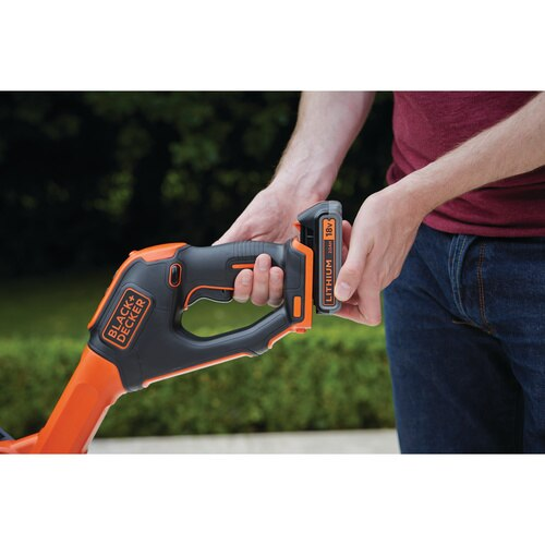 Black and Decker - New 18V 28CM POWERCOMMAND Easy Feed String Trimmer - STC1820EPC